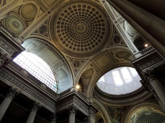 Un dettaglio del soffitto