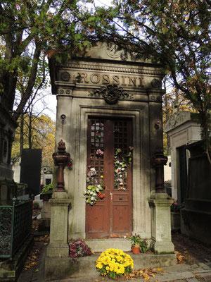 Tomba di Gioacchino Rossini