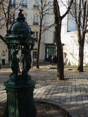 La piazza Émile-Goudeau