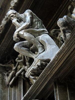 Un détail de La Porte de l'enfer