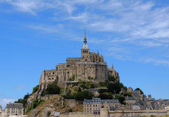 Vue générale du Mont Saint-Michel