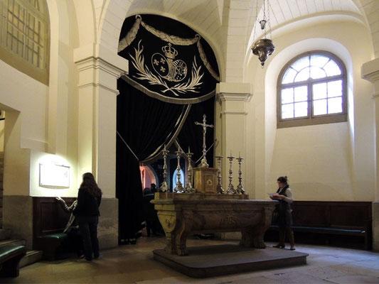 Le chœur de la chapelle des Girondins