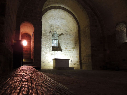 La crypte de Saint-Martin