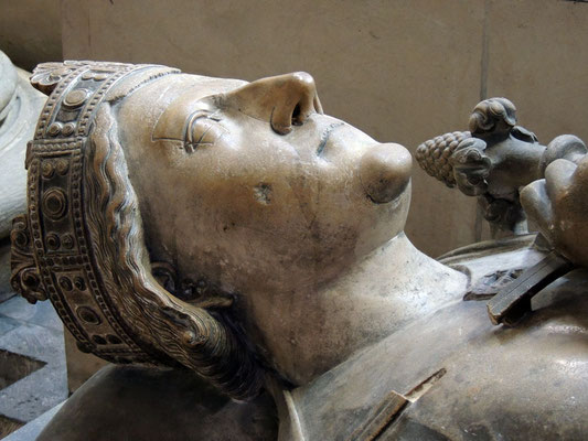 Il monumento funerario di Riccardo Cuor di Leone