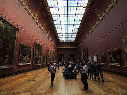 Salle des peintures françaises du 19ème siècle