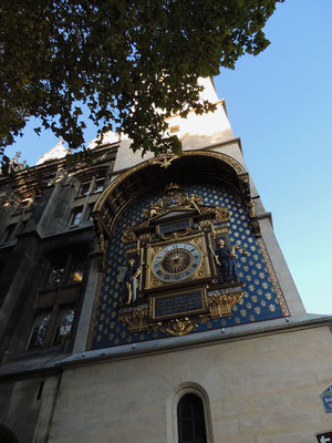 L'orologio della Conciergerie