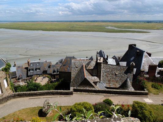 Il villaggio del Mont Saint-Michel