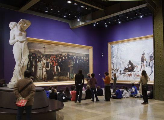 Un funerale a Ornan di Gustave Courbet © Musée d'Orsay / Sophie Boegly