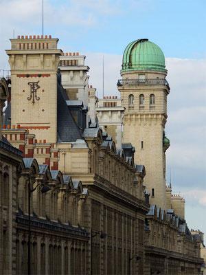 La torre dell'osservatorio  della Sorbona
