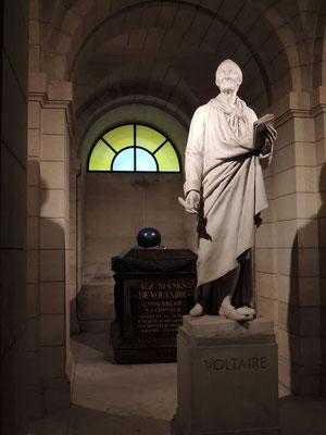 La tomba di Voltaire