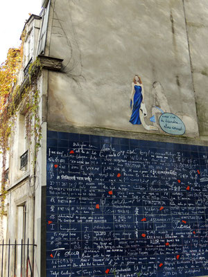 """Il muro dei """"je t'aime"""""""