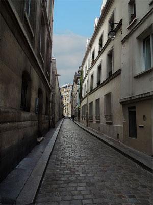 Une rue du Quartier Latin