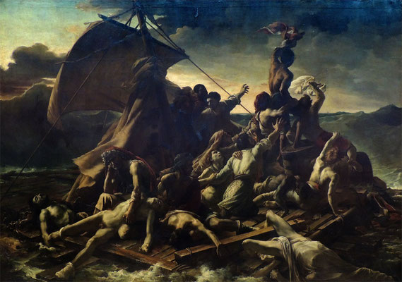 La Zattera della Meduse di Théodore Géricault