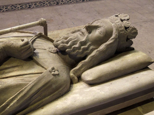 Le gisant du roi Clovis