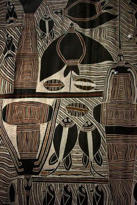 Peinture sur écorce aborigène, Australie