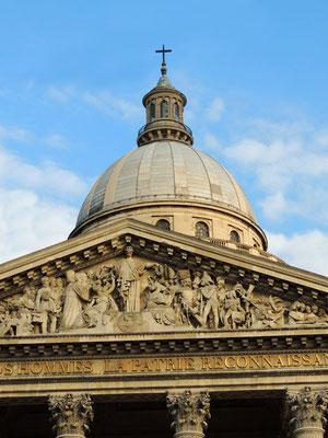 Il frontone del Pantheon