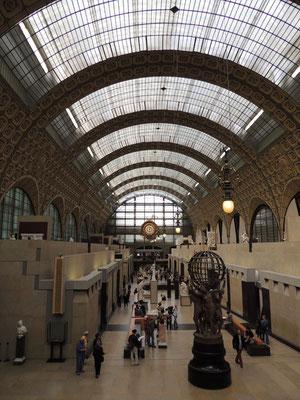 La galleria e la grande vetrata