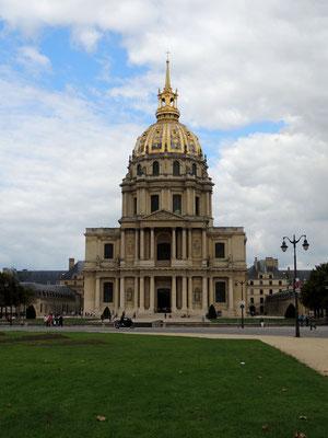 Le dôme de Saint Louis-des-Invalides