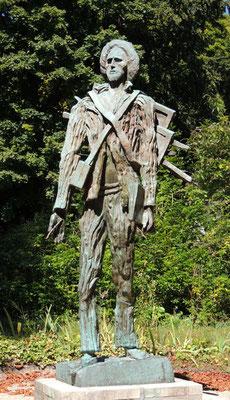 Statua di Van Gogh fatta da Zadkine
