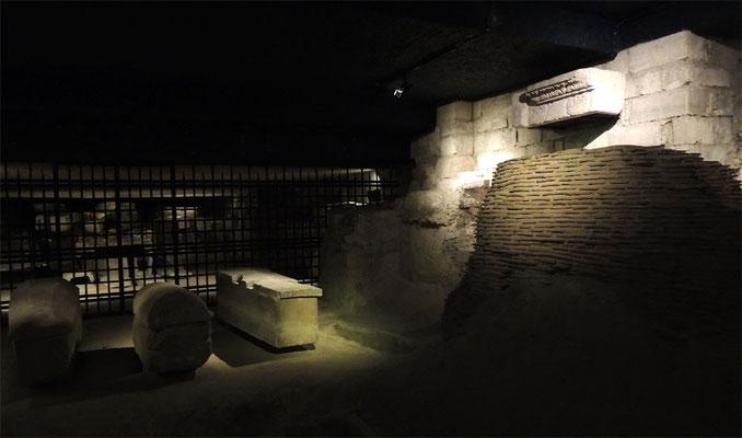 Le tombeau de Saint Denis