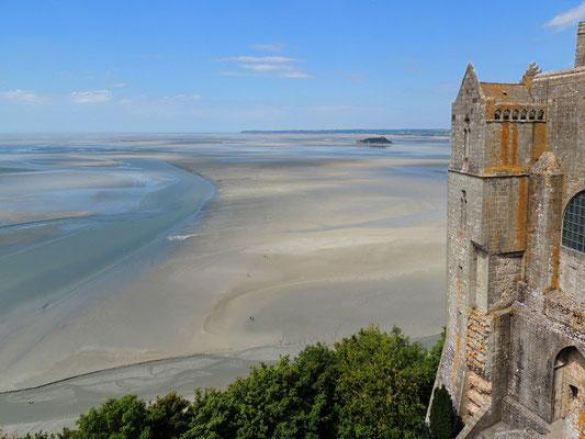 Vue de la baie du Mont Saint-Michel