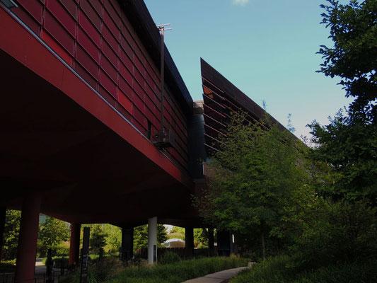 Vue du musée depuis la rue de l'Université