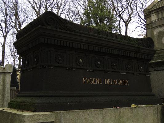 Tombeau d'Eugène Delacroix