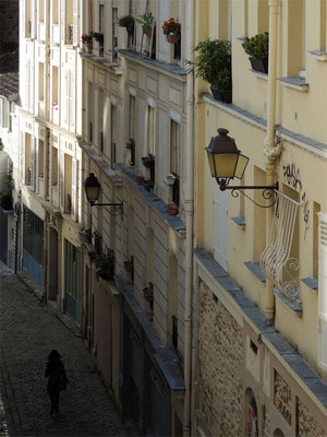 Un escalier à Montmartre