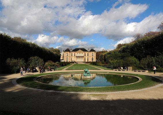 Il giardino e il Palazzo Biron