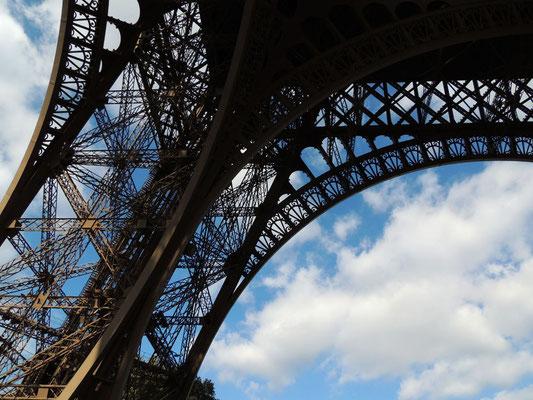 Un pilier de la Tour Eiffel