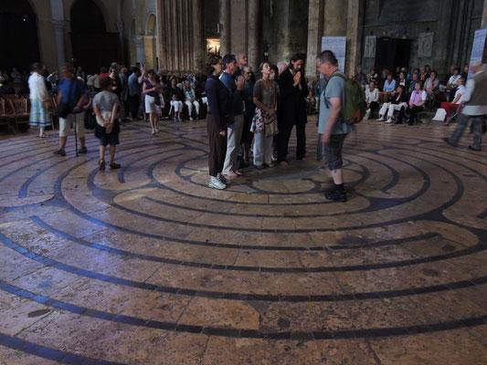 Le labyrinthe de la cathédrale