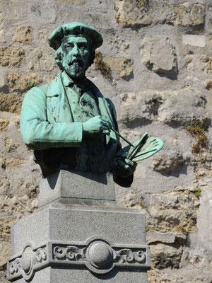 Busto di Charles-François Daubigny