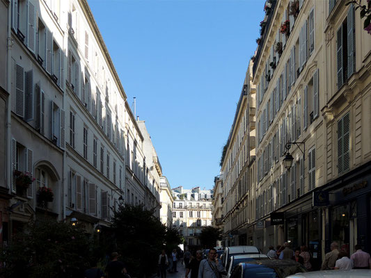 La rue des Rosiers