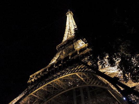 La Tour Eiffel éclairée