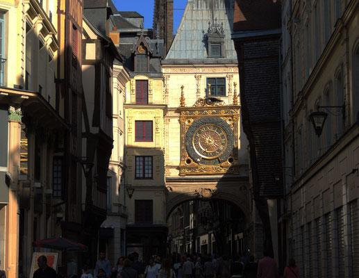 La rue du Gros-Horloge
