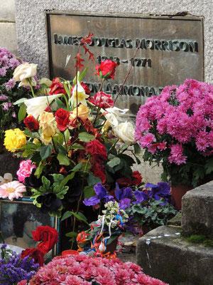 Tombe de Jim Morrison