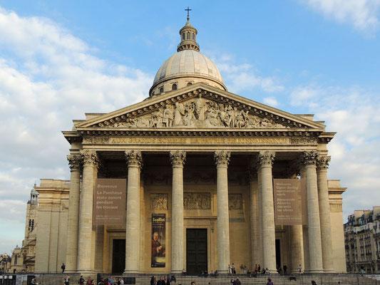 La façade du Panthéon
