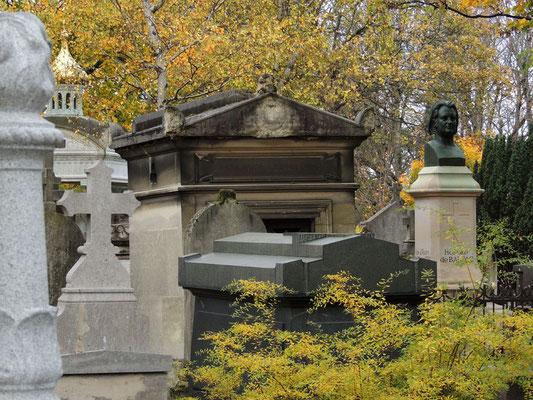 Tombe d'Honoré de Balzac