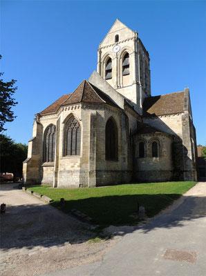 L'église d'Auvers-sur-Oise