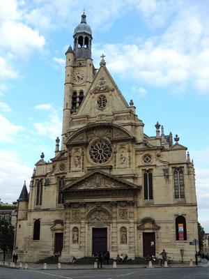 La chiesa di Saint-Étienne-du-Mont