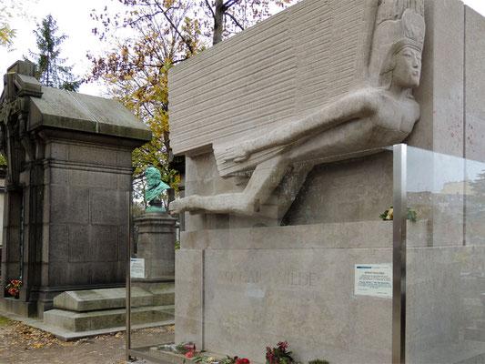 Tombeau d'Oscar Wilde