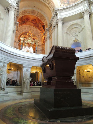 La tomba di Napoleone Bonaparte
