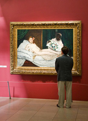 Olympia, Edouard Manet © Musée d'Orsay / Sophie Boegly
