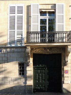 La maison de Charles Beaudelaire