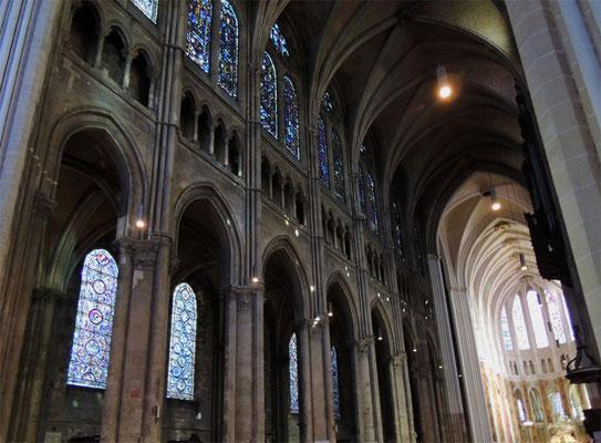 L'élévation de la cathédrale