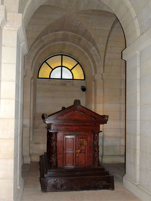 Le tombeau de Jean-Jacques Rousseau