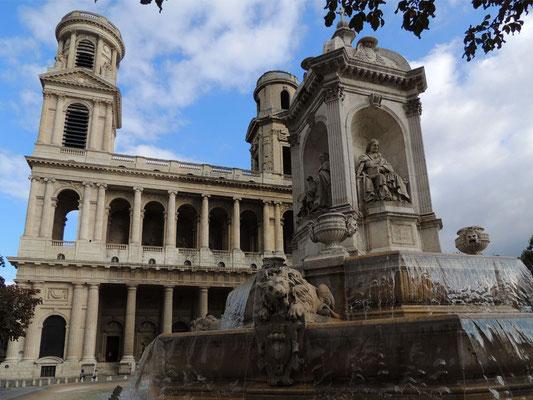 La piazza Saint-Sulpice
