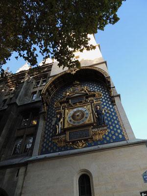 L'horloge de la Conciergerie