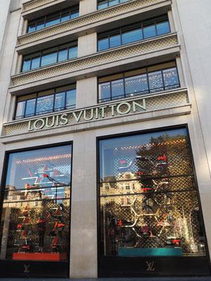 La boutique Louis Vuitton