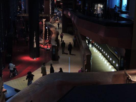 L'intérieur du musée